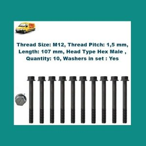 Ford Courier G6 cylinder head bolts