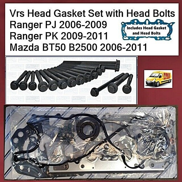 Ford Ranger PJ PK WEAT VRS Head Gasket Kit with Head Bolts