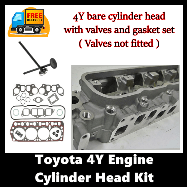 Toyota-4Y-Cylinder-Head-With-out-Valves-Fitted