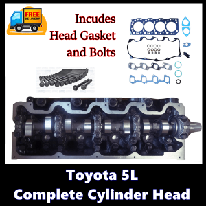 Toyota 5L Complete Cylinder Head-