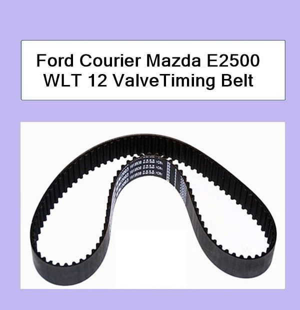Ford Courier WLT Mazda B2500 Timing Belt