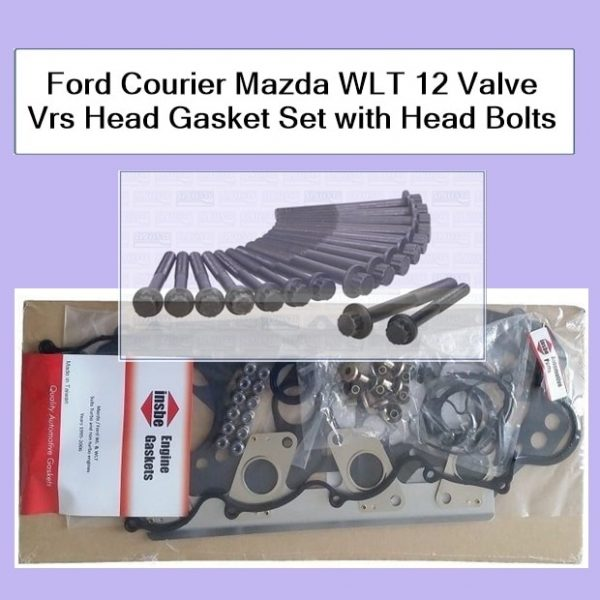 Ford Courier WLT Vrs Gasket Set with Head Bolts