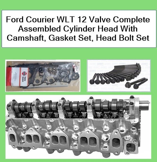 Ford Courier Cylinder Head Complete