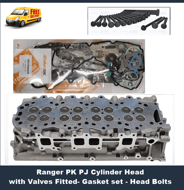 Ford Ranger PJ PK Cylinder Head Complete with Camshafts
