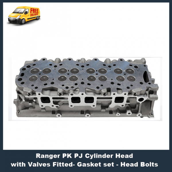 Ford Ranger PJ PK Cylinder Head with Valves Fitted