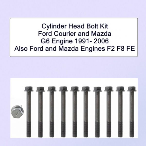 Ford Mazda G6 Cylinder Head Bolts