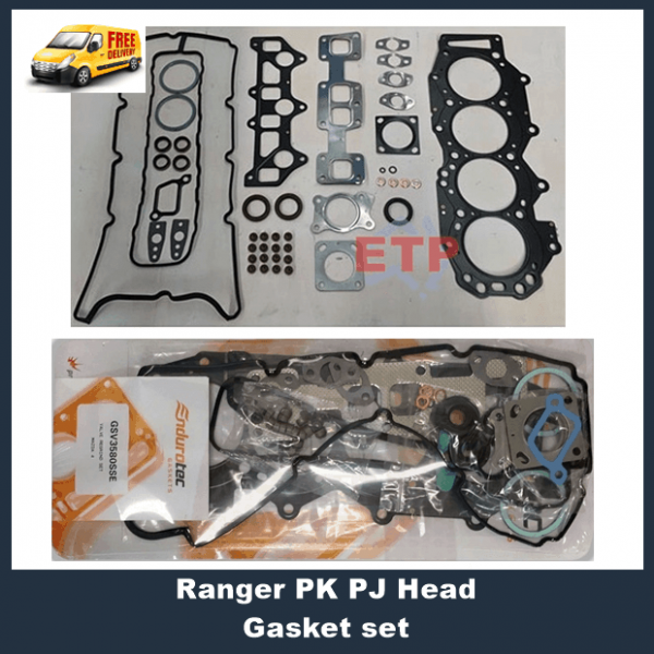 Ford Ranger PJ PK VRS Head Gasket Kit with Head Bolts