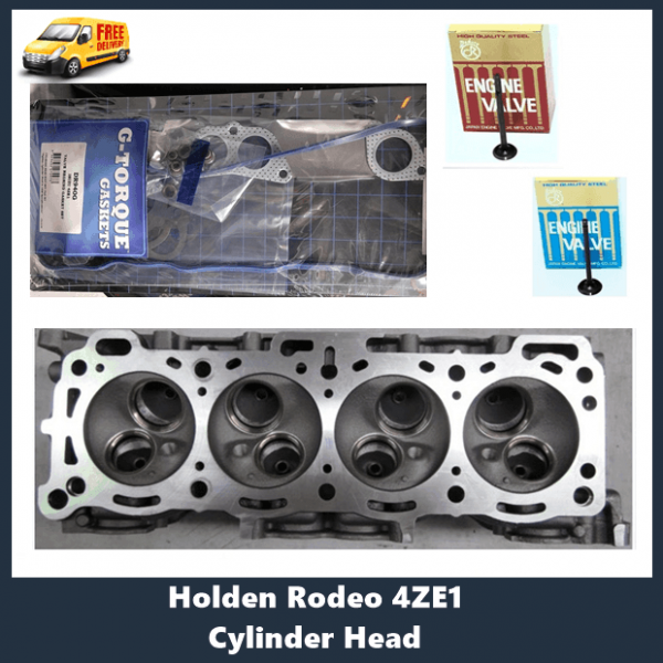 Holden 4ZE1 2.6Ltr Cylinder Head Kit 8 valve