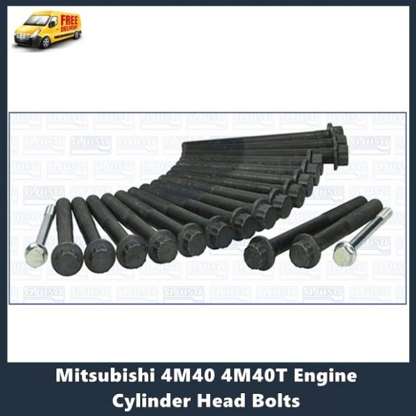 Mitsubishi 4M40 4M40T Engine Cylinder Head Bolts