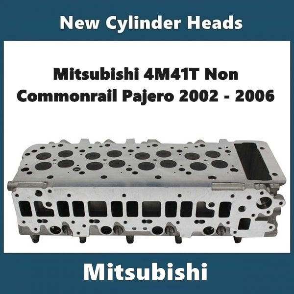 Mitsubishi 4M41T Cylinder Head Non Common Rail