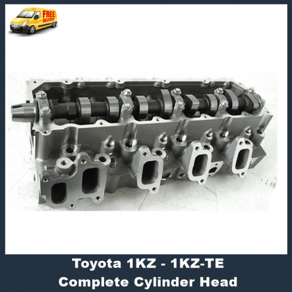 Toyota 1KZ-TE Assembled Cylinder Head with Gaskets
