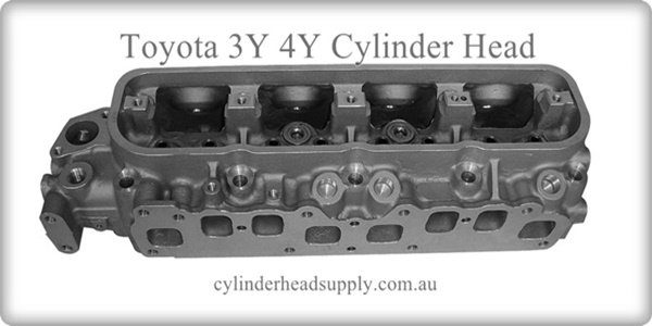 Toyota 3Y 4Y Cylinder Head No Valves