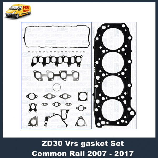 Nissan Patrol ZD30 2007 on Cylinder Head Assembled