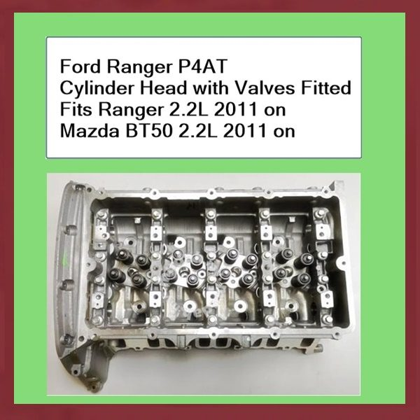Ford-Ranger-PX-P4AT-Cylinder-Head-with-valves-fitted-Fits-Ranger-2.2L-2011-on-Mazda-BT50-2011-on