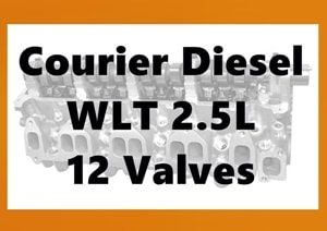 Courier WLT 12v Cylinder Head