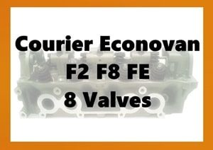 Courier FE 2.0L Cylinder Head