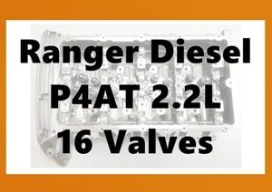 Ford Ranger PX P4AT Cylinder Head