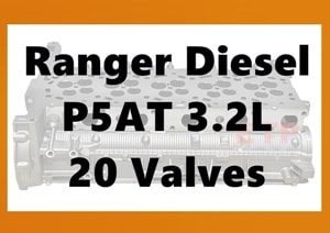 Ford Ranger PX P5AT Cylinder Head